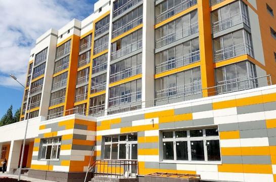 В подмосковном Архангельском в III квартале 2017 года планируют ввести в эксплуатацию жилой дом с детсадом