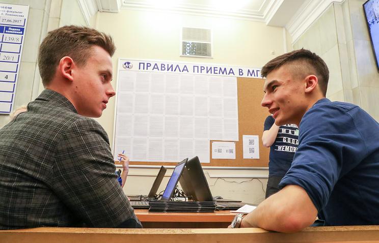 Абитуриенты подали около 30 тыс. заявлений в МГУ