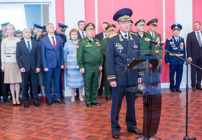 Патрушев принял участие в открытии в Петрозаводске кадетского училища