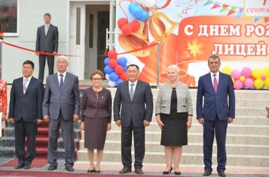 Ольга Васильева открыла школу в Республике Тыва
