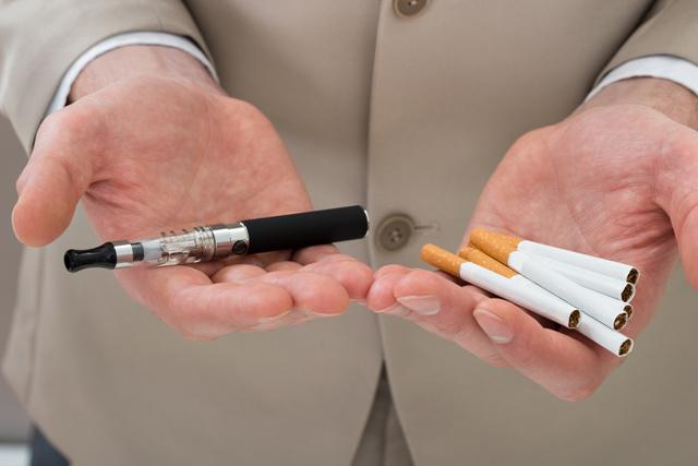 Электронные сигареты против обычных