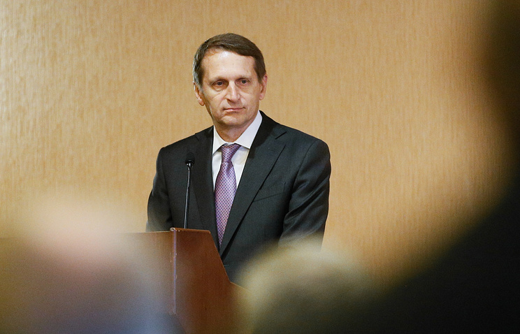 Нарышкин заявил, что новые школьные учебники по отечественной истории пока не идеальны