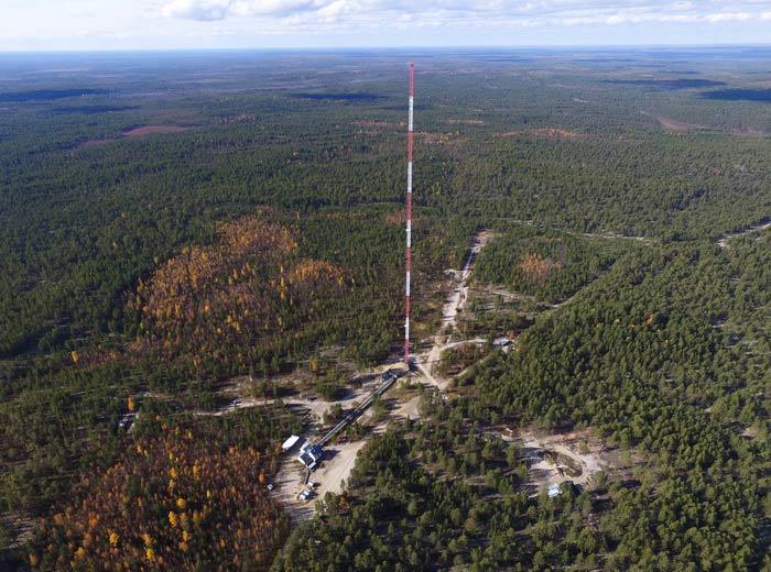 Воздух над Сибирью бывает чистым только летом