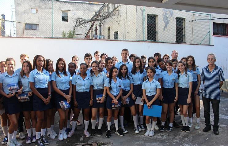 В двух школах в Гаване начинается преподавание русского языка