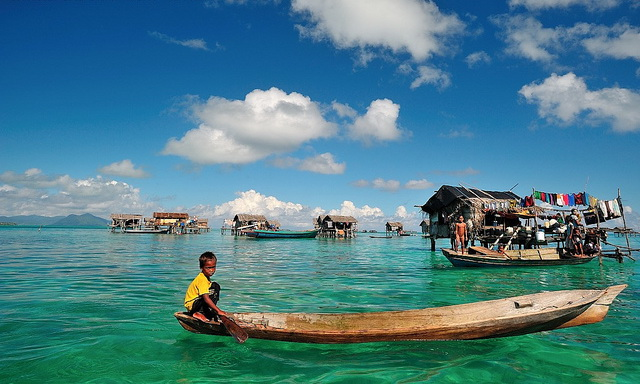 Индонезийские рыбаки хорошо ныряют благодаря мутациям