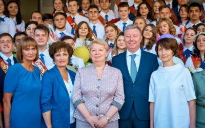 Ольга Васильева пожелала выпускникам всегда быть верными своей мечте