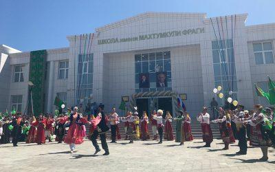 Под Астраханью открыли первую в России туркменскую школу