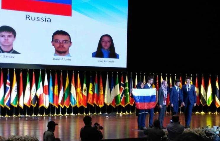 Российские школьники завоевали «золото» и «серебро» на международной олимпиаде по биологии