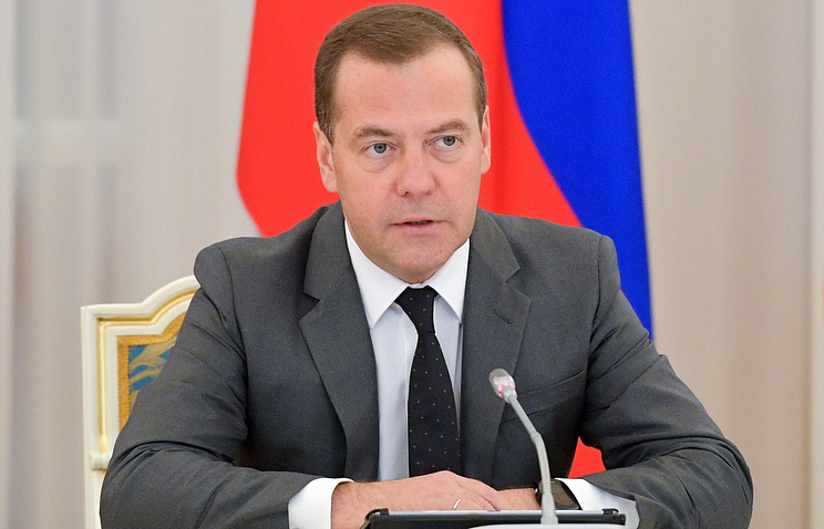 Медведев поздравил строителей с профессиональным праздником
