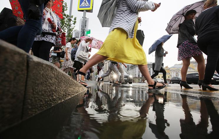Прохладная погода вернется в Москву после жарких выходных