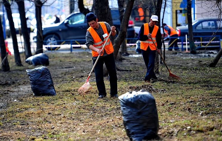 В Москве может появиться сервис по вызову дворников