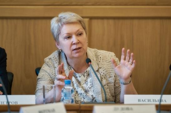 Ольга Васильева в понедельник встретится с активистами РДШ